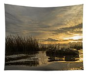 Peaceful Clouds Tapestry