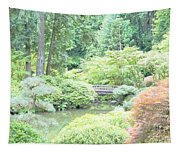 Peaceful Garden Space Tapestry