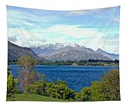 Peaceful Lake -- New Zealand Tapestry