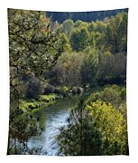 Peaceful River Tapestry