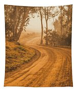 Peaceful Tasmania Country Road Tapestry