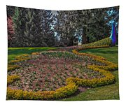 Peacock Garden Tapestry