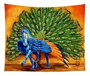 Peacock Pegasus Tapestry