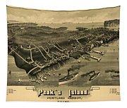 Peak's Island, Portland Harbor, Maine Tapestry