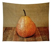 Pear On Cutting Board 1.0 Tapestry
