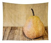 Pear On Cutting Board 2.0 Tapestry