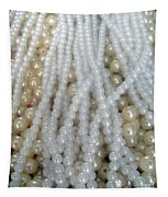 Pearl Beads - White And Beige Tapestry