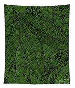 Pecan Tree Leaves Tapestry