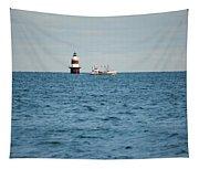 Peck Ledge Lighthouse Tapestry