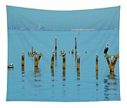 Pelican And Mobile Tapestry