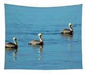 Pelican Racers Tapestry