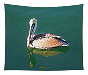 Pelican Reflection Tapestry
