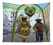 Pelourinho - Historic Center Of Salvador Bahia Tapestry