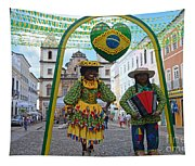 Pelourinho - Historic Center Of Salvador Bahia Tapestry