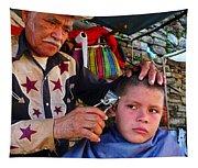 Peluquero Dos Tapestry
