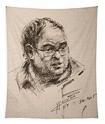 Sketch Man 8 Tapestry
