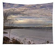 Pend D'oreille Lake Panorama Tapestry