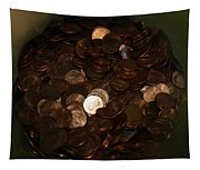 Pennies Tapestry