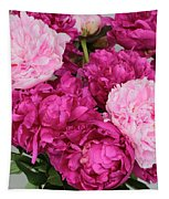Peony Bouquet Tapestry