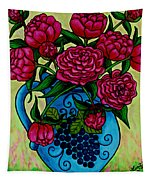 Peony Party Tapestry