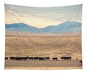 People's Creek Push Tapestry