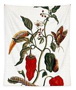 Pepper Plant Tapestry