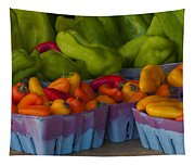 Peppers At The Produce Market Tapestry