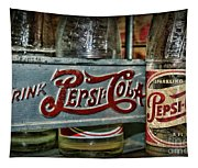 Pepsi Double Dot Metal Carrier  Tapestry