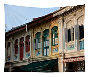 Peranakan Architecture Design Houses And Windows Joo Chiat Singapore Tapestry
