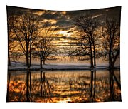 Perfect Sunset Tapestry