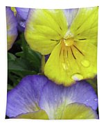 Perfectly Pansy 11 Tapestry