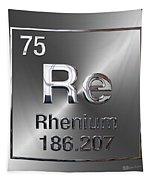 Periodic Table Of Elements - Rhenium Tapestry