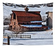 Perry Park Barn Tapestry