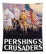 Pershing's Crusaders -- Ww1 Propaganda Tapestry