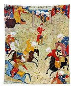 Persian Polo Game Tapestry