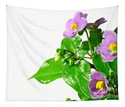 Persian Violets Tapestry