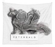 Peterbald Kitten 01 Tapestry