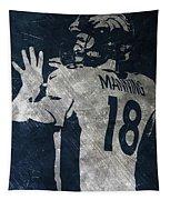 Peyton Manning Broncos 2 Tapestry
