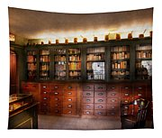 Pharmacy - The Apothecary Shop Tapestry