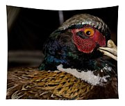 Pheasant In The Eye Tapestry