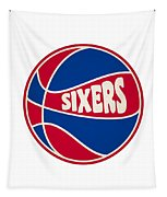 Philadelphia 76ers Retro Shirt Tapestry