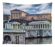 Philadelphia Art Museum At The Water Works  Tapestry