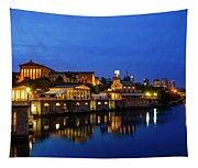 Philadelphia Art Museum - City Lights Tapestry