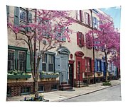 Philadelphia Blossoming In The Spring Tapestry