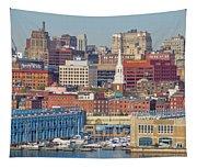Philadelphia - From The Ben Franklin Bridge Tapestry