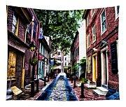 Philadelphia's Elfreth's Alley Tapestry