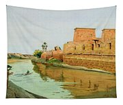 Philae On The Nile Tapestry