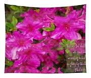 Philippians 4 19b Tapestry