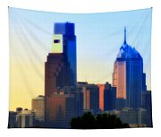 Philly Morning Tapestry