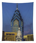 Philly Skyline-old And New Tapestry
